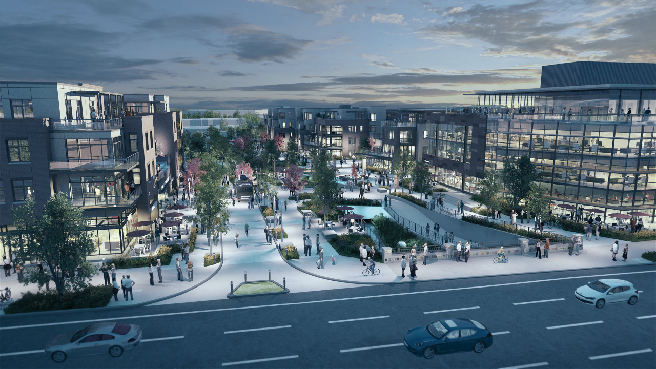 Mixed-use development project in Boulder