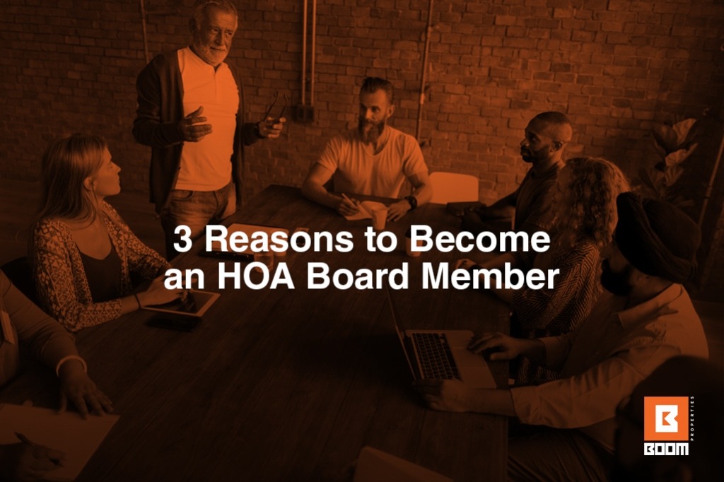 3 Reasons to Become an HOA Board Member - people sitting at the table, meeting