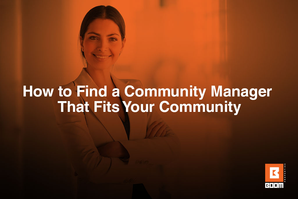 community manager that fits your community - a girl in a suit cross hands smiling