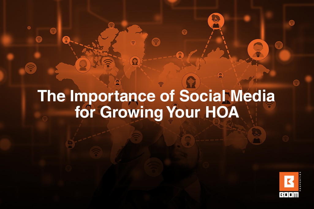 The Importance of Social Media for Growing Your HOA - world map connect